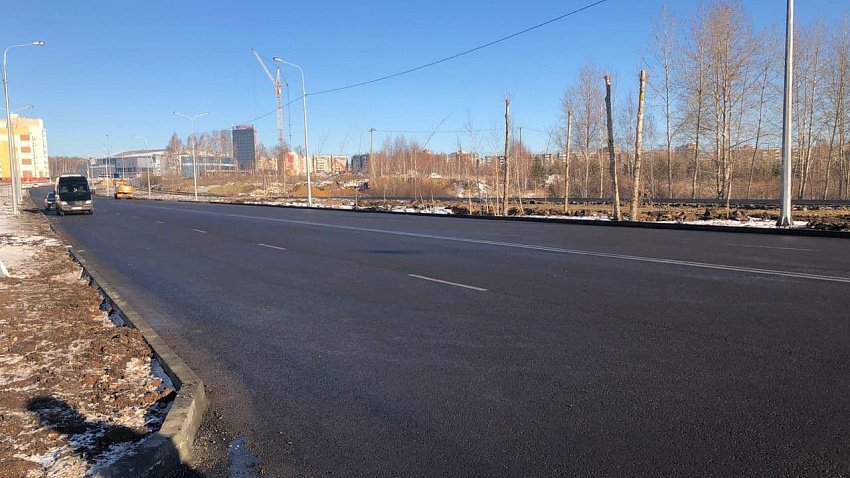 В Челябинске отремонтируют улицу Танкистов и Комсомольский проспект