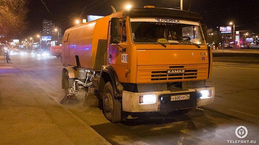 Мэр Челябинска Наталья Котова запретила использовать щетки при уборке дорог