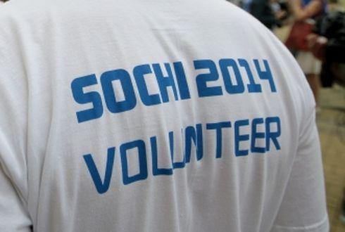 Попасть волонтером в сочи