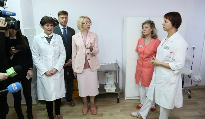 Детская поликлиника областной клинической больницы №2 преобразилась до неузнаваемости