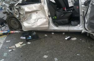 Автоледи залетела под грузовик на трассе М-5