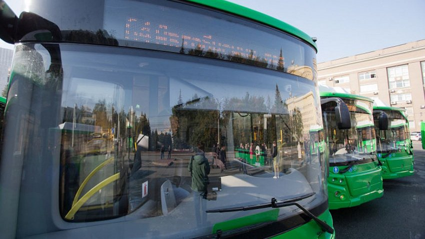 По улицам Челябинска поедут экологичные автобусы