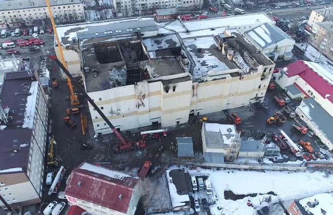 В годовщину пожара в «Зимней вишне» СК опубликовал предварительные итоги расследования