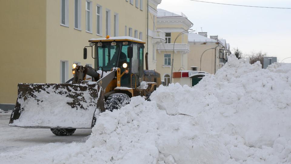 Следить за уборкой снега онлайн могут жители Копейска
