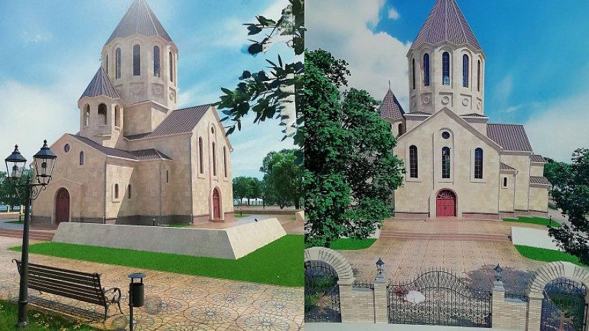 В Челябинске строят первую армянскую церковь