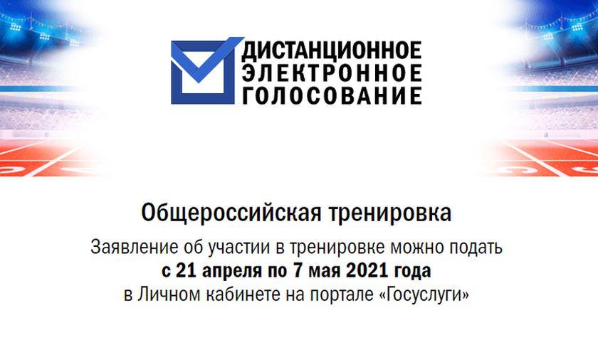 Южноуральцы смогут потренироваться в дистанционном голосовании