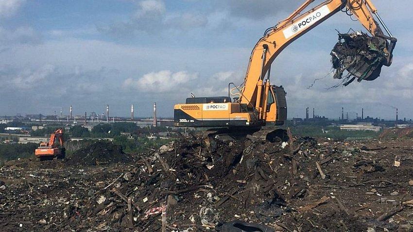 В Челябинске продолжается рекультивация городской свалки
