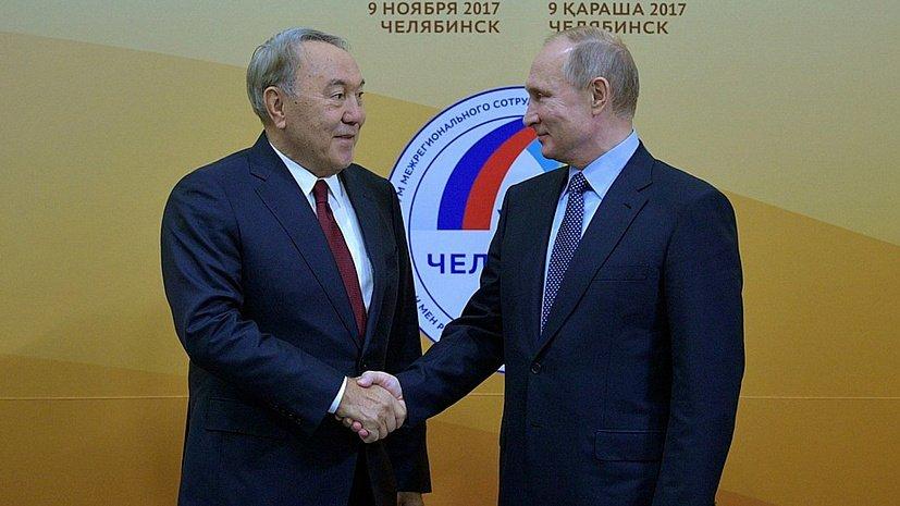Нурсултан Назарбаев: «Челябинск связан с моей металлургической молодостью»
