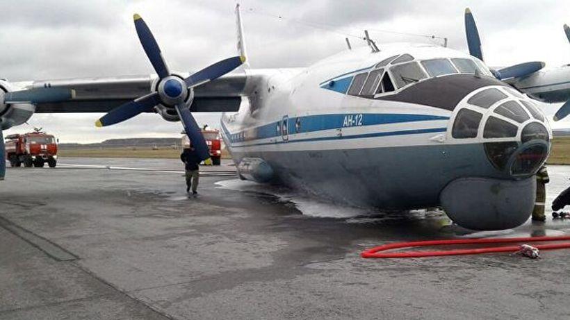Десятки авиалайнеров не смогли приземлиться в Екатеринбурге из-за аварии транспортного самолета