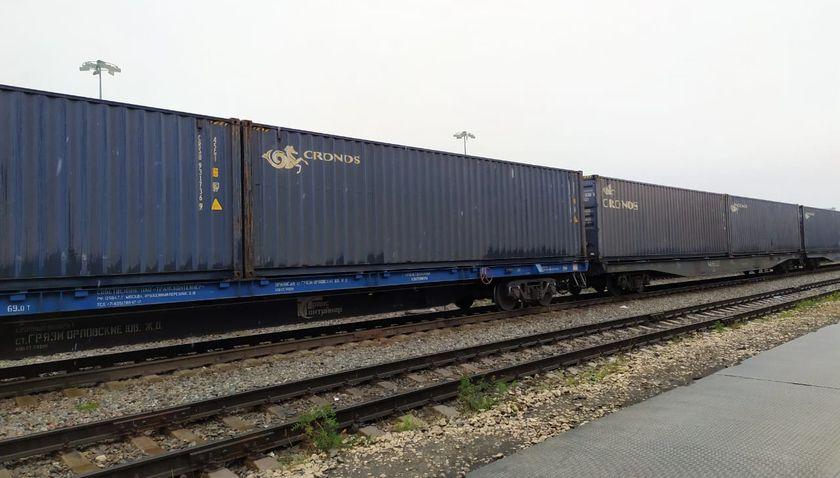 Перевозки контейнеров на ЮУЖД выросли в 1,3 раза