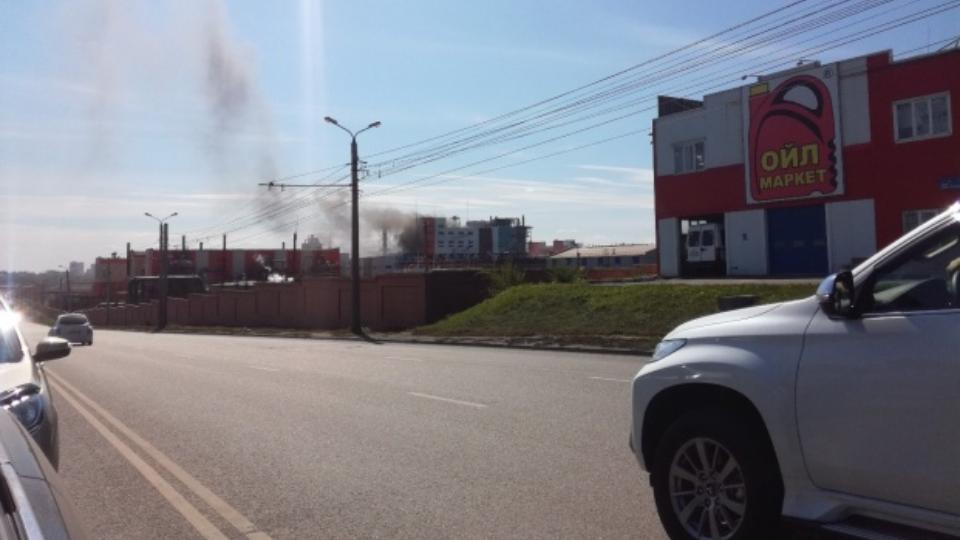 Стали известны подробности о пожаре на Цинковом заводе