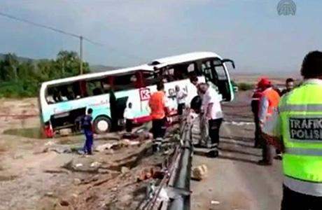 Вбольницах Турции после аварии туравтобуса остаются 9 россиян