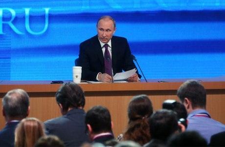 Традиционный «годовой отчет» Президента РФ Владимира Путина – текстовая трансляция