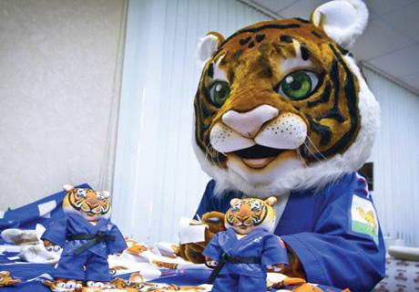 На улицах Челябинска появится 100 изображений тигренка Жорика