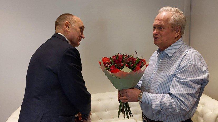 Южноуральский дирижер принял поздравление от губернатора