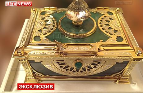 Гостям свадьбы Гуцериева подарили золотые шкатулки на50 млн рублей