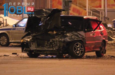 Черный Rolls-Royce Александра Аристова угодил в аварию с «Ладой» в центре Челябинска