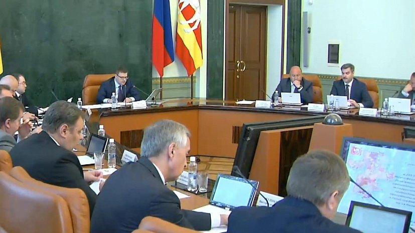 Алексей Текслер отчитал правительство за двукратное отставание по нацпроектам