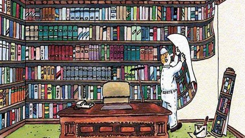 Библиотечный тупик: всё, кроме новеньких книг