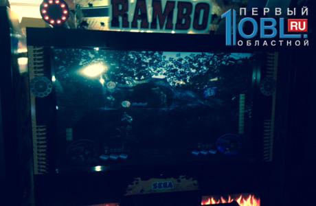 Игровой автомат рэмбо