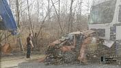 На трассе М-5 всмертельную аварию сдвумя фурами попал автомобиль «Яндекс.Такси»
