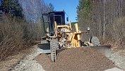 В Катав-Ивановском районе отремонтировали провал грунта надороге после паводка