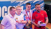 В Челябинске прошло чествование чемпиона России покикбоксингу Виктора Михайлова