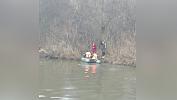В Златоусте спасатели эвакуировали через реку Ай заблудившихся подростков