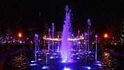 В центре Челябинска заработал светомузыкальный фонтан