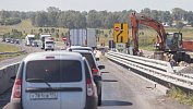 В Сосновском районе напять месяцев ограничили движение научастке трассы М-5 «Урал»