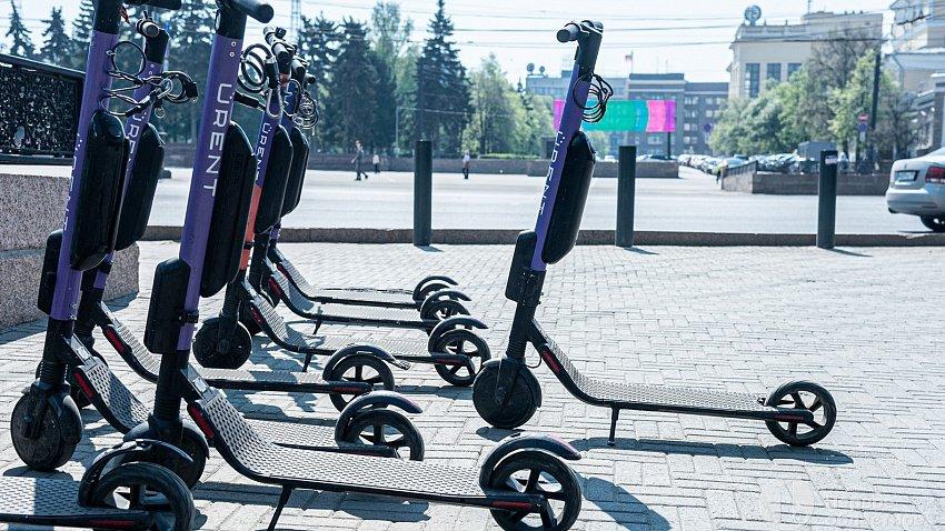 В Челябинске ограничили скорость движения электросамокатов