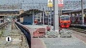 В ЮУЖД опровергли обрушение пассажирской платформы настанции Челябинск-Главный