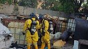 В Челябинске нанелегальной свалке нашли емкости сиспарявшимся хлором