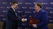 Алексей Текслер подписал соглашения с главами трех регионов