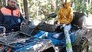 Спасатели эвакуировали наквадроцикле заблудившуюся семью изОзерска
