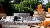 Разрушенный фонтан вчелябинском сквере «Сад камней» превратят варт‑объект