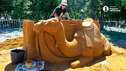 Фестиваль песочной скульптуры вЧелябинске может стать ежегодным