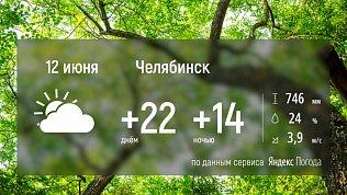 Погода на 12 июня — теперь на видео