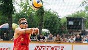 В Магнитогорске состоялся этап чемпионата России попляжному волейболу