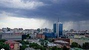 В Челябинске после изнуряющей жары прошел дождь