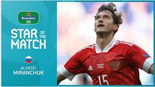 Россия одержала победу над Финляндией на Евро 2020: видео победного гола