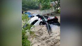 Вниманию отдыхающих: видео природной катастрофы в Ялте