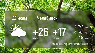 В городах Южного Урала будет пасмурно, но тепло