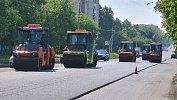 В Челябинске ремонт дороги наулице Куйбышева завершат раньше срока