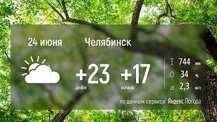 На Южном Урале ожидается тёплая погода без дождей