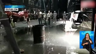 В Магнитогорске затопило театр драмы