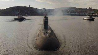 Магнитогорск получил видеопоздравление от экипажа подводной лодки