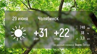 На Южный Урал возвращается жаркое лето