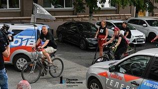 Велопробегом вЧелябинске закрыли театральный сезон