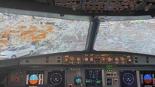 Очевидец рассказал о рейсе из Челябинска в Москву под мощным градом